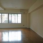 これだけの広さがあれば、家具を配置しても余裕があります(居間)